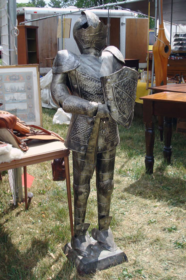 A suit of armor