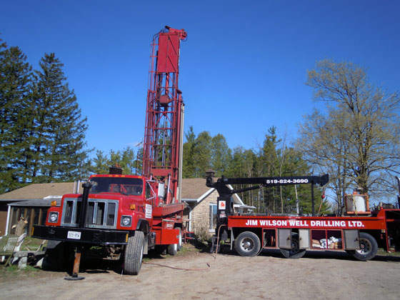 Drilling a new well