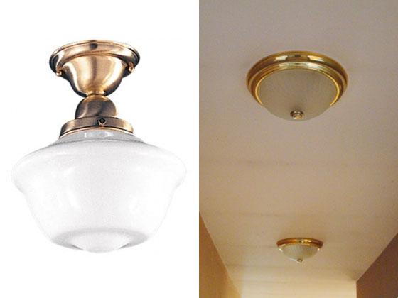 Barn Light Electric Mayfield Semi-Flush Ceiling Light