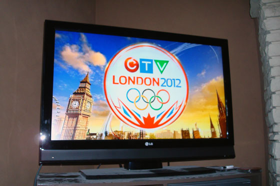 CTV Olympics on TV