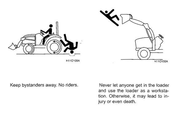 Images from Kioti CS2410 manual