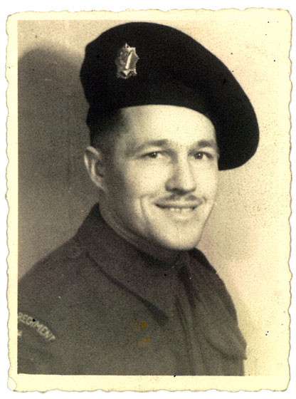 My grandfather in his World War 2 uniform