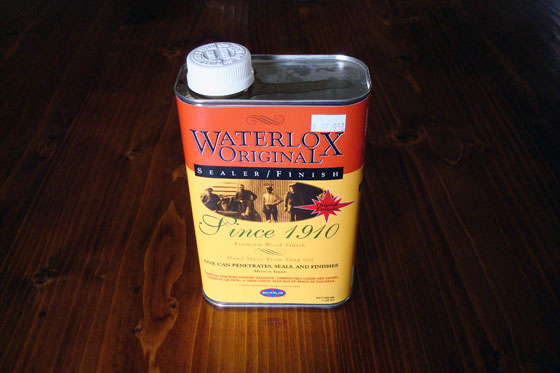 Waterlox to finish a wood countertop