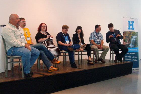 Panelists at WordCamp