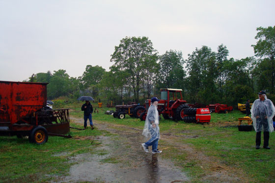 Farm equipment for sale by auction