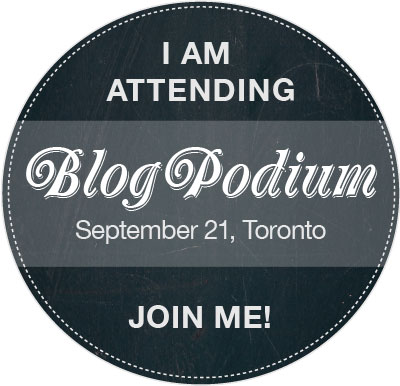 I am attending Blog Podium