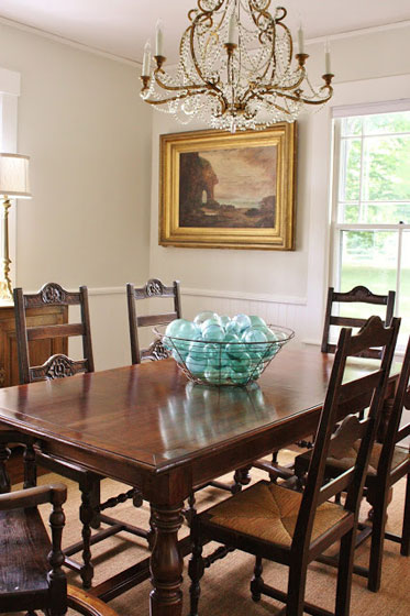 For The Love Of A House dining room