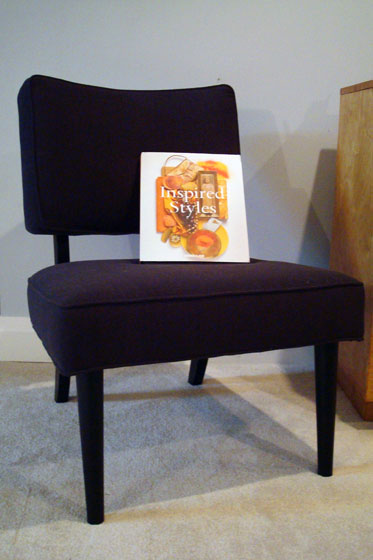 Decorium Austin chair and Inspired Style book