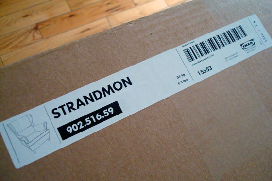 Ikea Strandmon box