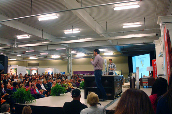 Property Brothers Drew and Jonathan Scott at the Toronto Fall Homeshow