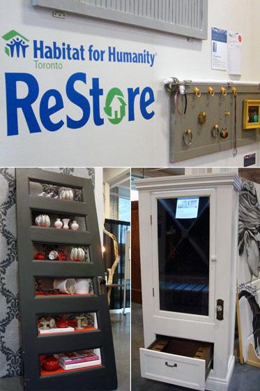 Habitat for Humanity Restore exhibit at the Toronto Fall Homeshow
