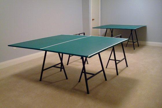 Refurbishing an old pingpong table