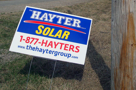 Hayter solar