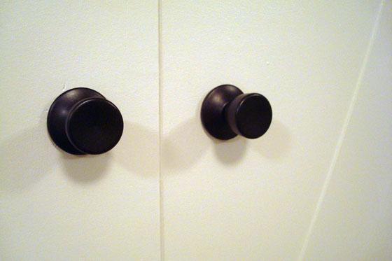 ORBed doorknobs