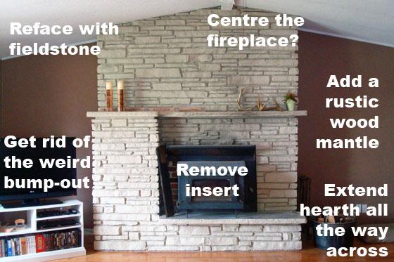 Fireplace fixes