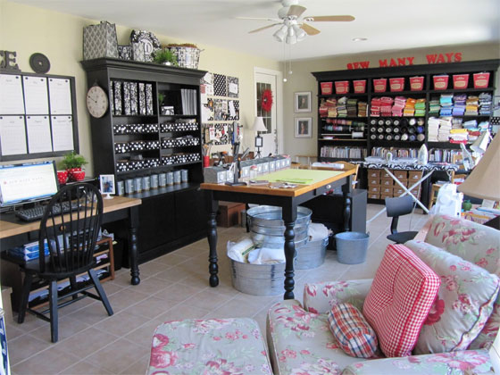 Craft room inspiration from Sew Many Ways