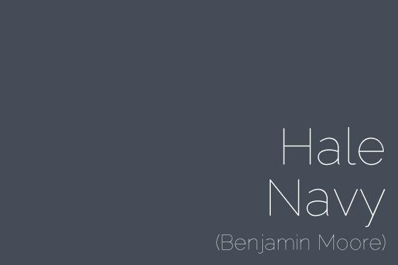 Here's the Hale Navy chip from Benjamin Moore's website . Very