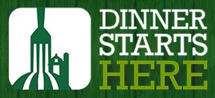 Dinner Starts Here logo