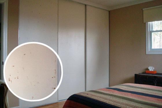 One Room Challenge Week 4 Update Sliding Closet Doors