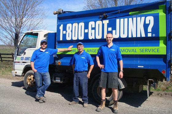 1-800-Got-Junk team