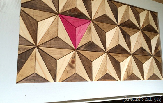 Geometric art by Sawdust & Embryos
