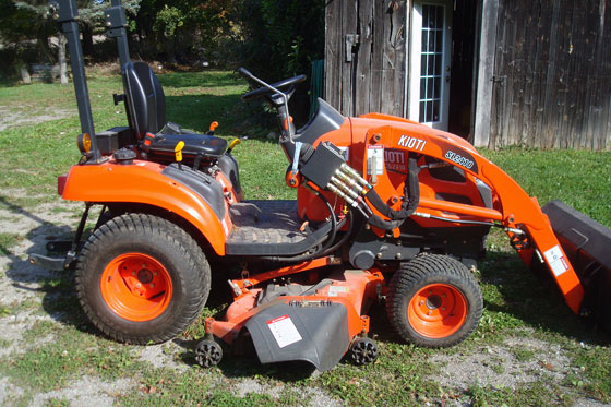 how to remove a belly mower from a kioti cs2410 home on 129 acres rh homeon129acres com