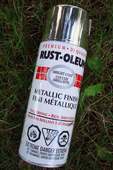 Rustoleum metallic finish