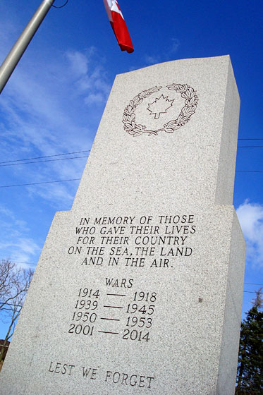 Canadian cenotaph
