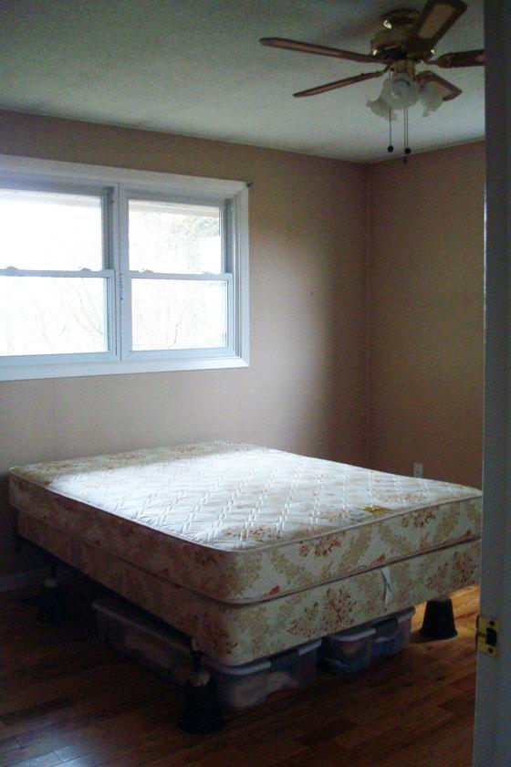 Guestroom before