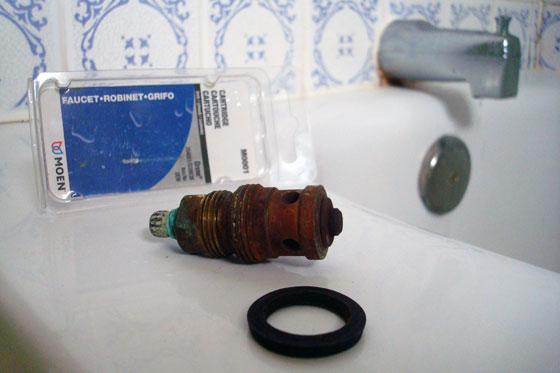 Old tap cartridge