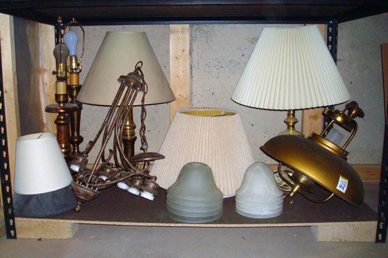 Lighting storage
