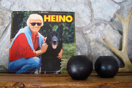 Autographed Heino album