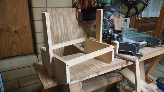 How to make a wooden vegetable harvest basket