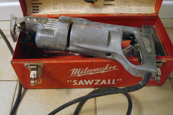 Vintage Milwaukee Sawzall