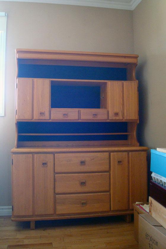 Vintage china cabinet