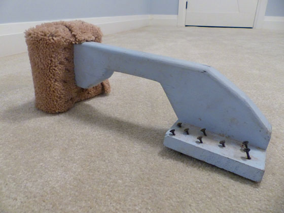 How to make a DIY carpet kick