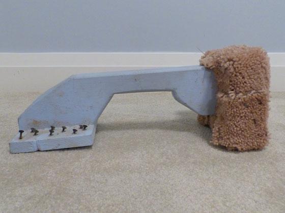 How to make a DIY carpet kick