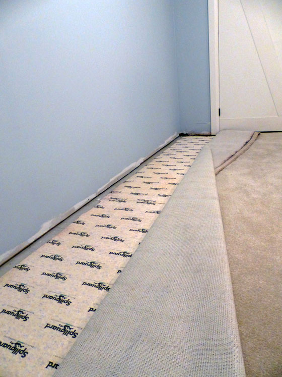 How to reuse old carpet