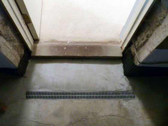 Basement floor drain