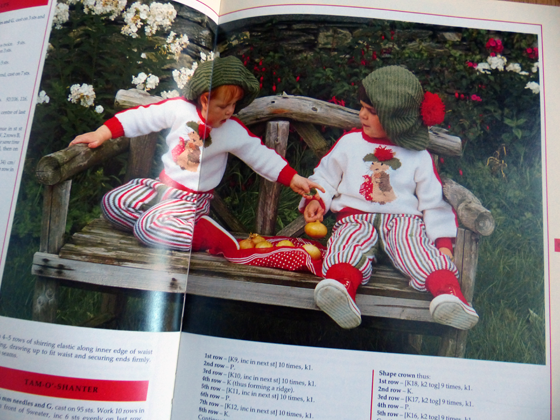 Benjamin Button knitting outfits