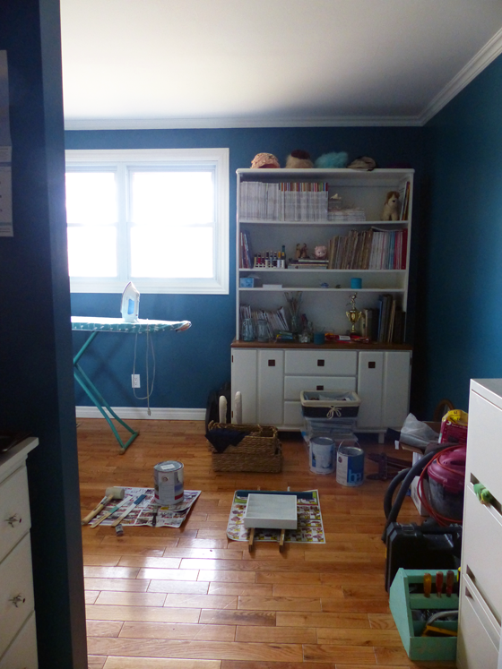 Office mid-makeover