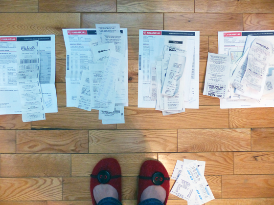 Sorting bills