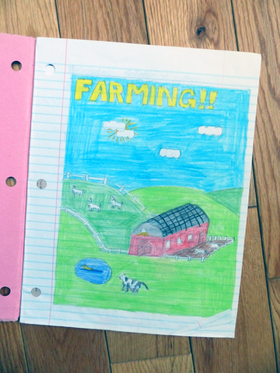 Farm drawing