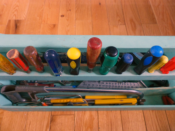 How to build a simple toolbox