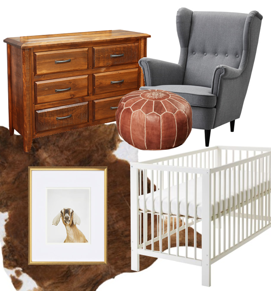 Neutral Nursery Moodboard