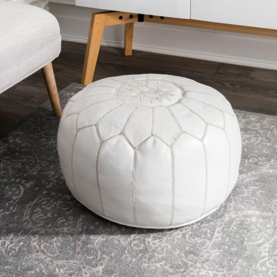 Cherise Moroccan Pouf by Mistana via Wayfair