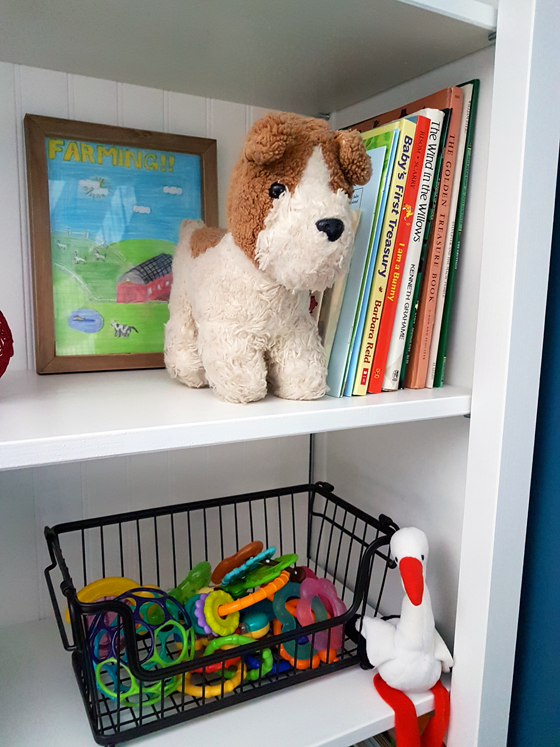 Nursery bookcase