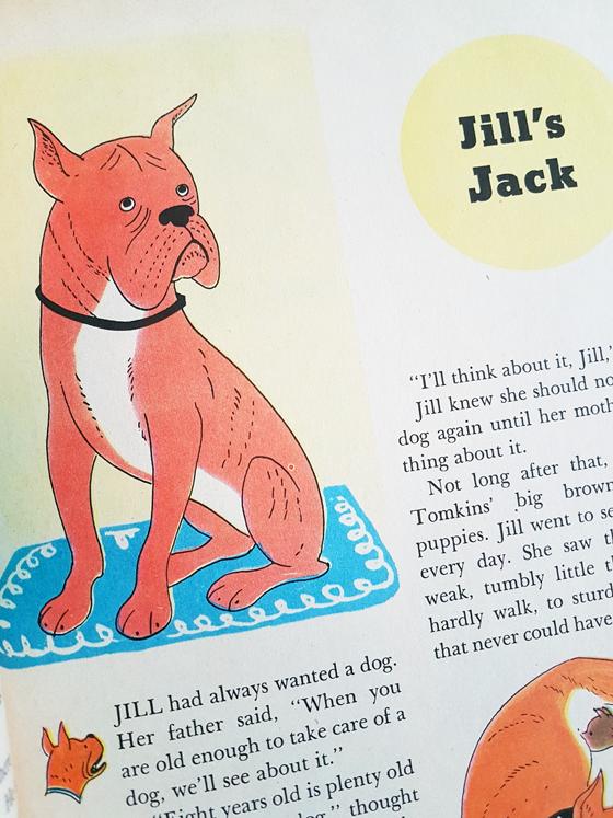 Children's story Jill's Jack