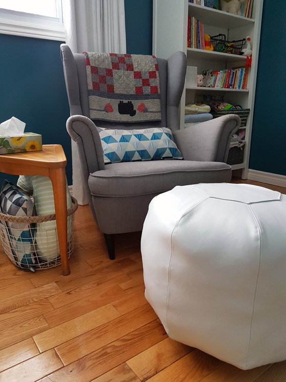 DIY Moroccan pouf free sewing pattern