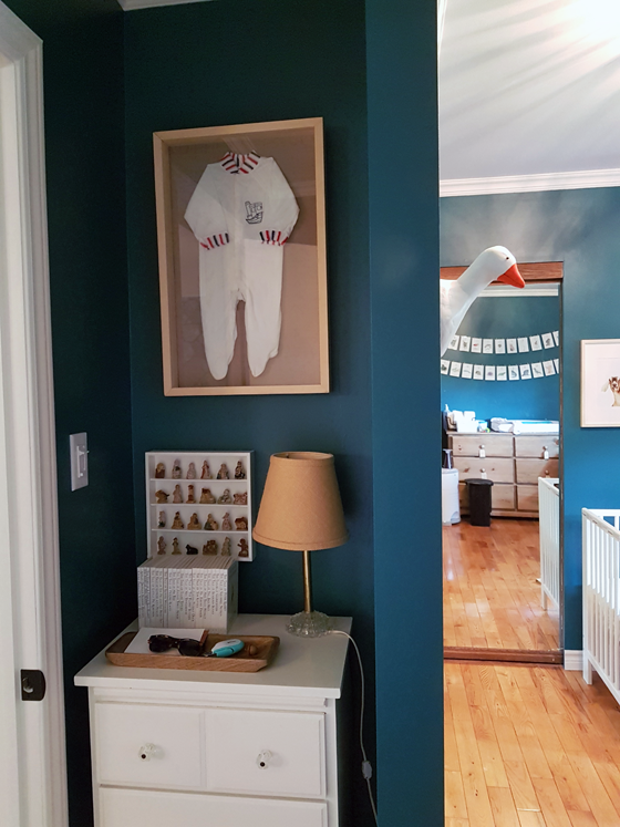 Styling the top of a little dresser